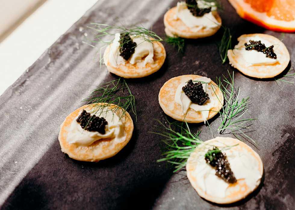 Can I feed caviar