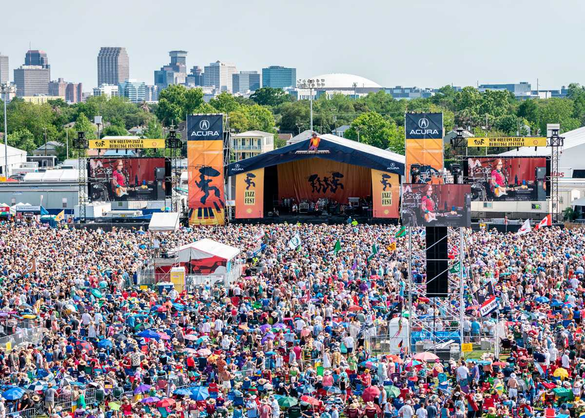 16b218a8e6a3 50th Annual New Orleans Jazz and Heritage Festival - Country Roads ...