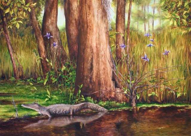 Gator-and-Wild-Iris,-Bayou-Magazille-(1).jpg