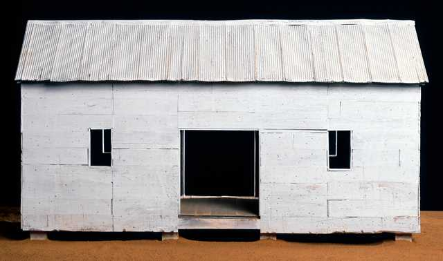 William-Christenberry,-Ghost-Form,-1994,-Mixed-media-sculpture-with-red-soil,-16.75-x-34-x-20,-Ogden-Museum-of-Southern-Art,-Gift-of-the-Roger-H.-Ogden-Collection.jpg