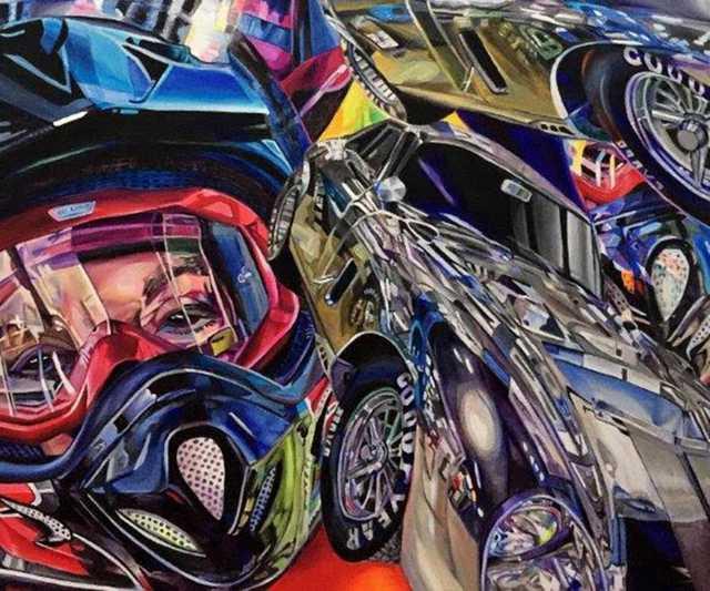 Carol Scott Full Throttle Gallery Julia 600