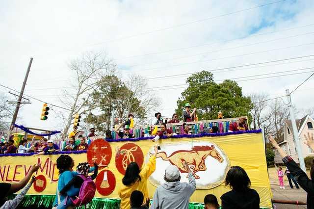 mid city gras parade