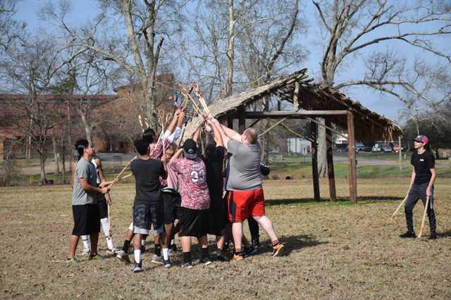 stickball clinic tunica-biloxi tribe february 2020
