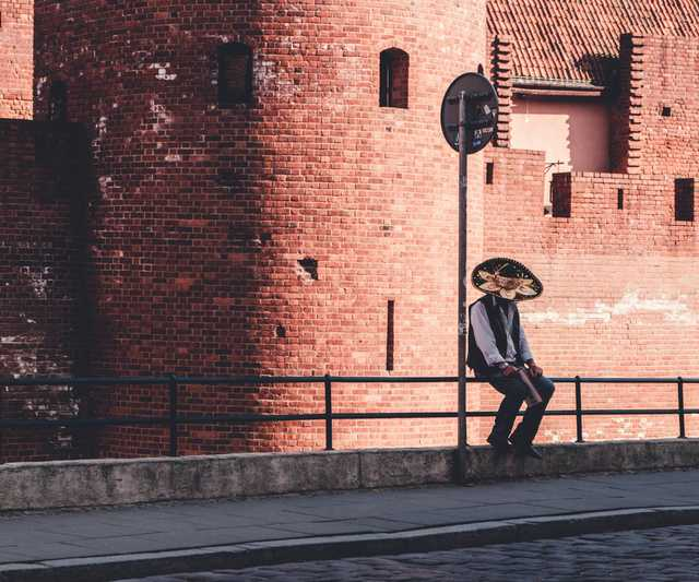 cinco de mayo alone sombrero mexico photo stock photo