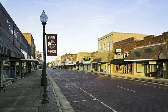 Downtown Minden, Louisiana