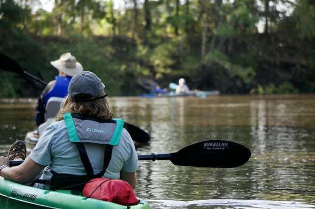 Kayaking in Webster Parish