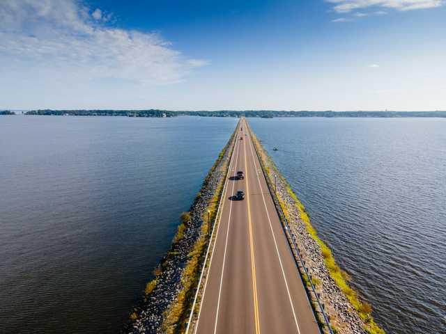 Barnett Reservoir Causeway