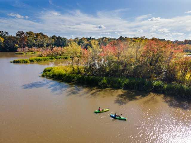 Crystal Lake in Flowood, Mississippi