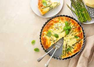 asparagus-tart-vegan-quiche-homemade-pastry-health-26XNBXD.jpg