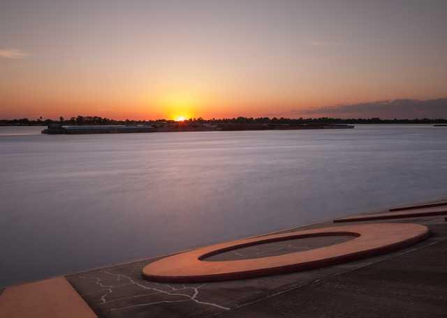 Baton Rouge River Sunset
