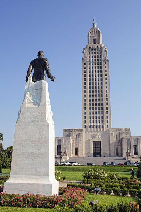 Huey Long Statue