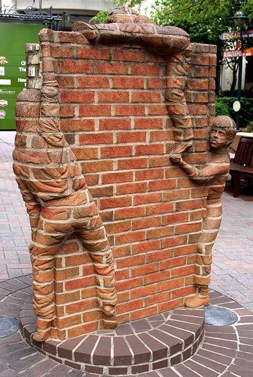 Public sculpture in Charlotte, NC