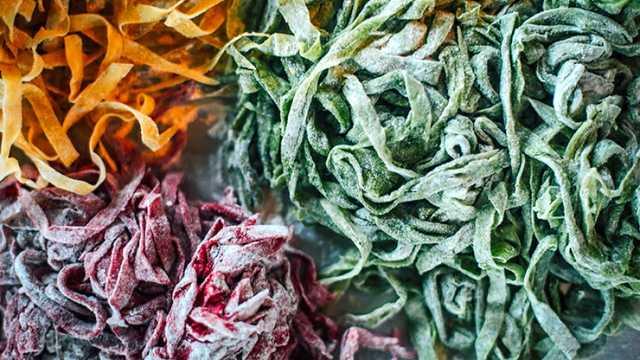 Fresh Dyed Pasta