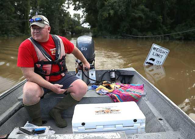 Baton Rouge Flood Exxon