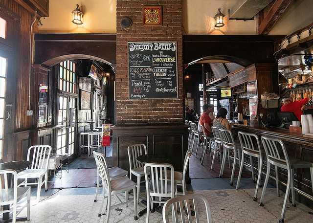 Interior of Avenue Pub
