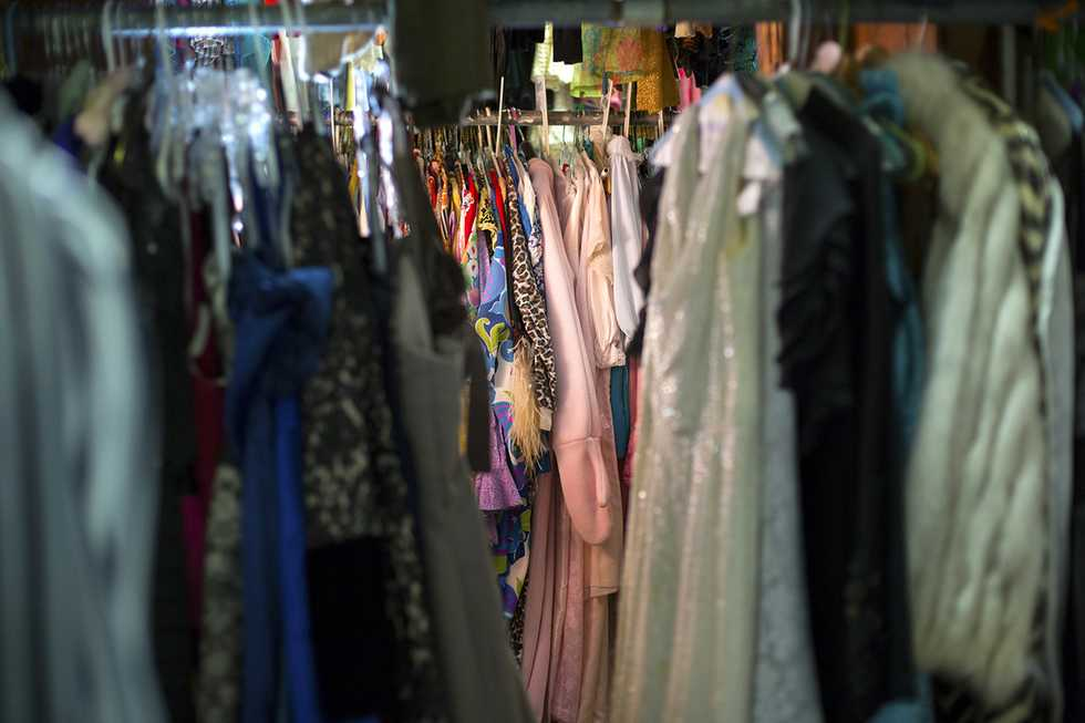 Costume Room at Theatre Baton Rouge