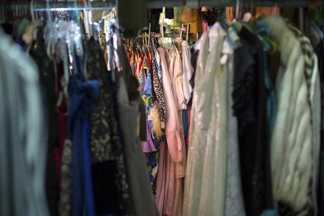 Costume Room at Theatre Baton Rouge