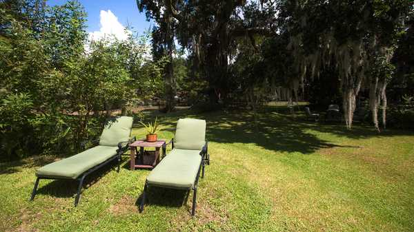 Lounge Chairs on Bayou Teche