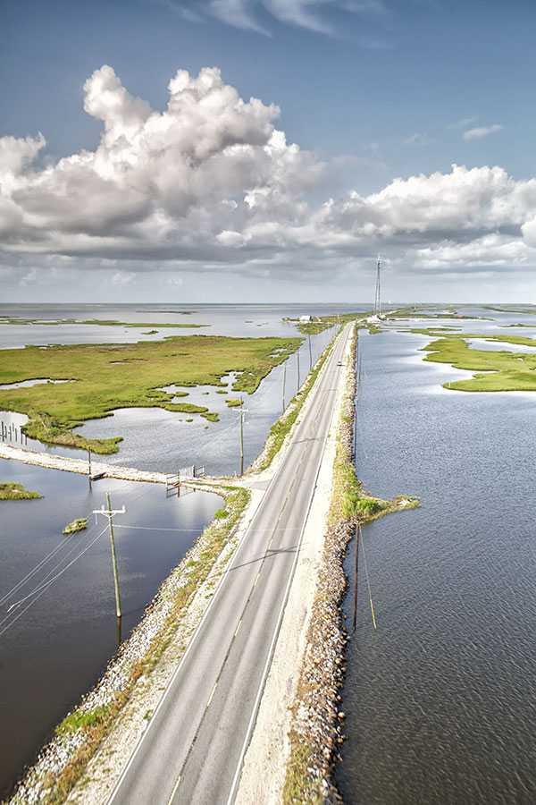 Highway 1 to Grand Isle