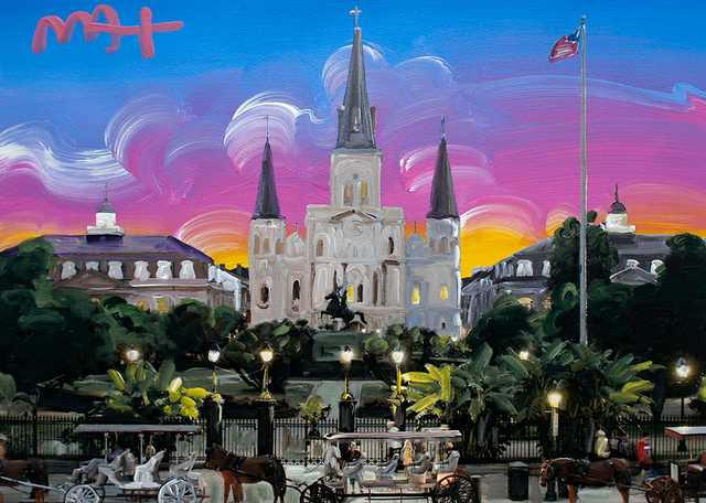 Jackson Square by Peter Max