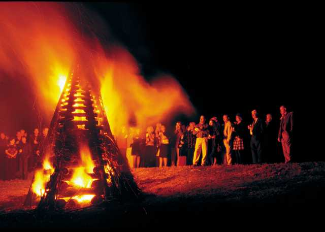 Levee Bonfires