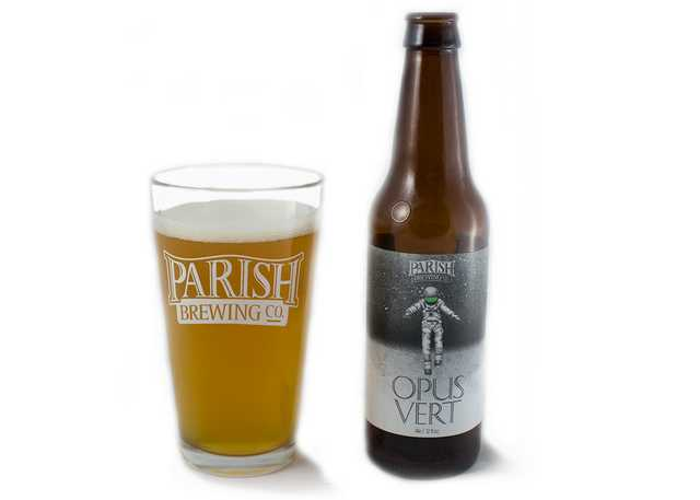 Fall beer pairings Parish Opus Vert