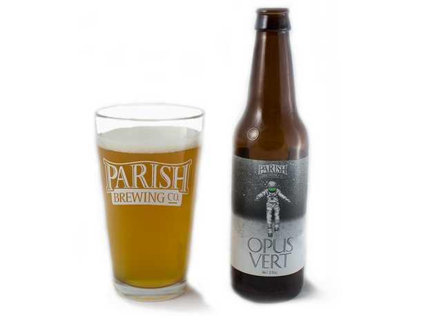 Fall beer pairings Parish Opus Vert