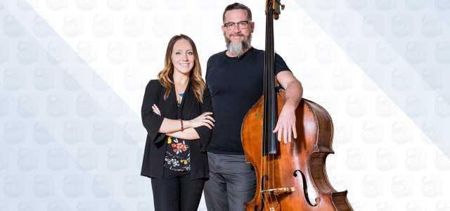 Arts Council Anna Schwab and David Hinson