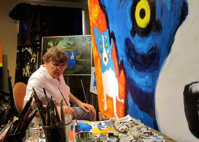 George Rodrigues Painting