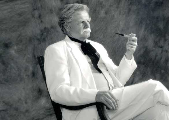 Warren Brown as Mark Twain