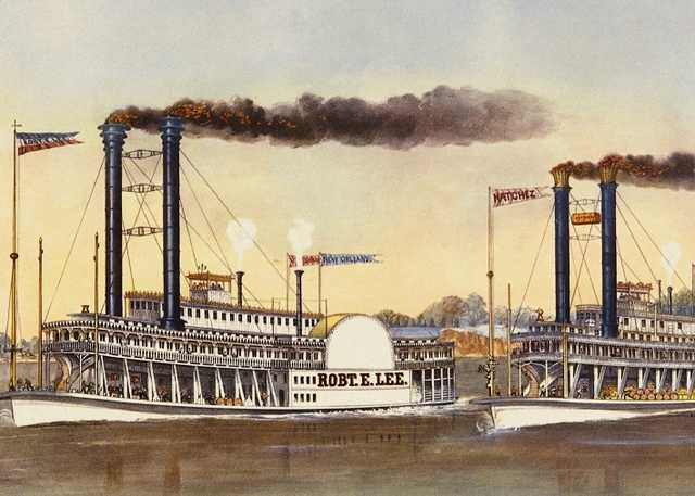 The Great Race on the Mississippi