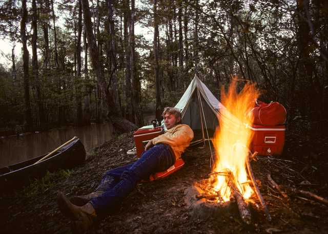 Camping in the Atchafalaya Basin