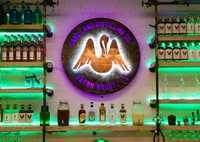 The bar at Cane Land Distilling Company