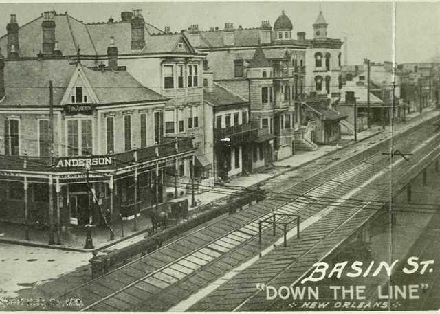 Basin St. Down The Line New Orleans