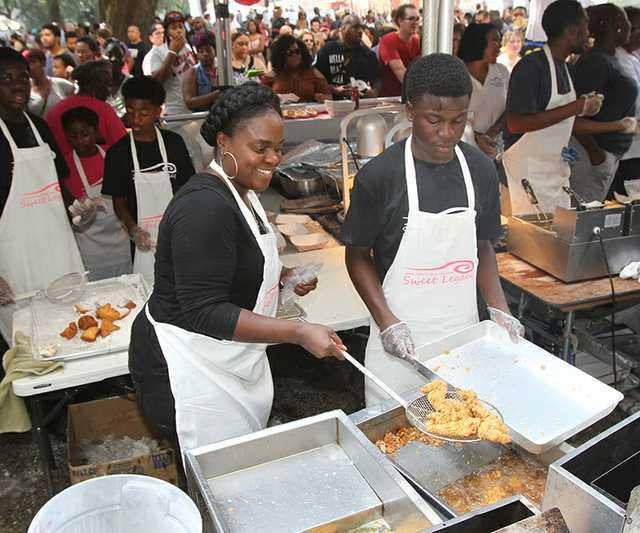 Fried Chicken Festival - Lafayette Square