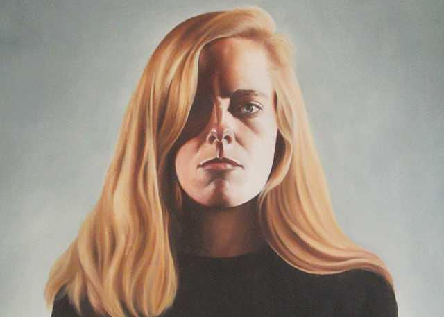 'A-Cold-Eye',-Self-Portrait,-1991,-oil-on-canvas,-24-x-30-ins.,-Talbot-Hopkins,-1991.jpg