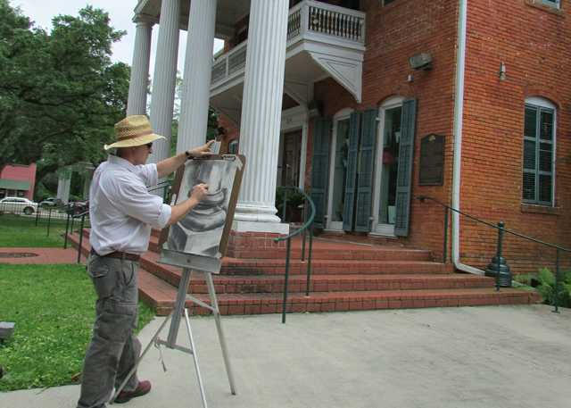 Troy Leleux Painting Shadows Visitor Center.jpg